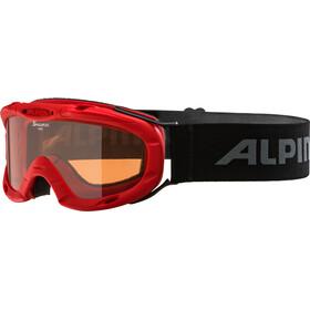 Alpina Ruby S Singleflex Hicon S1 - Lunettes de protection - rouge